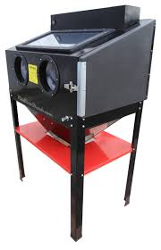 Media Blasting Cabinet Manufacturers by New Redline Re36 Double Light Sand Blasting Blaster Cabinet Glass