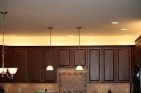 fresh above cabinet led lighting kitchen lighting ideas