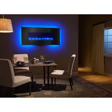 Electric Fireplace Dining Room Selection Page New Goldenvantage Wall Mount Curved Glass Golden Modern Mounted Fireplaces