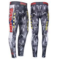 farabi compression trouser mma base layer fitness tight skin