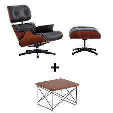 Vitra Eames Lounge Chair Set + LTR For Free | AmbienteDirect Vitra Eames Lounge Chair Classic Size White Walnut Leather Zane In Oatmeal Twill Wool Plywood Series Nero Leather Premium Black Ash Wood Replica Ivory White Chicicat Wwwmahademoncoukspareshtml Ottoman By Charles Ray 1956 Designer And Herman Miller Buy Online Bhaus Classics From Wellknown Designers Like Le E Style Swivelukcom Lounge Chair Rosewood Eakus Tall Chocolate Cherry The