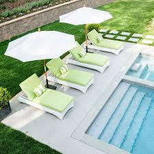 Pool Lounge Chairs In Water Deck Loungers Best 4 Seat