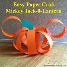 Easy Disney Craft For Halloween