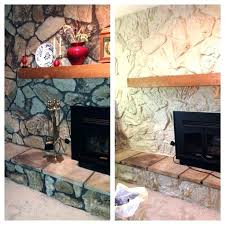 how to paint a stone fireplace – ibbcub