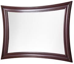 casa padrino luxus wandspiegel dunkelbraun 85 x 2 5 x 120 cm spiegel mit massivholzrahmen wohnzimmer deko accessoires