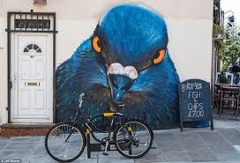 it s wild in london street artists brighten up capital with huge