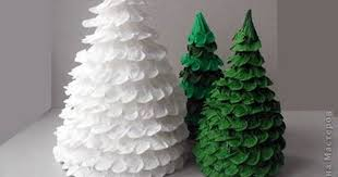 Contemporary Diy Paper Christmas Tree Tittle