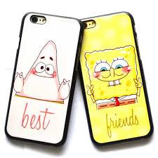 best friend spongebob squarepants patrick star hard case for