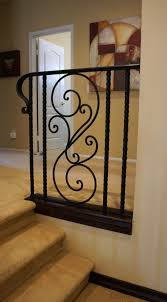 Custom Iron Railings, Hand Forged Iron Railings - Demejico Wrought Iron Stair Railing Idea John Robinson House Decor Exterior Handrail Including Light Blue Wood Siding Ornamental Wrought Iron Railings Designs Beautifying With Interior That Revive The Railings Process And Design Best 25 Stairs Ideas On Pinterest Gates Stair Railing Spindles Oil Rubbed Balusters Restained Post Handrail Photos Freestanding Spindles Installing