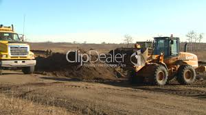 Front End Loder An Dump Truck: Royalty-free Video And Stock Footage