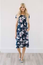 Pink Floral Summer Dresses
