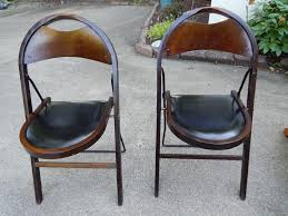 TWO Vintage 20s/30s Deco Industrial Stakmore Wood Folding ... Rd9582 2 Vintage Samson Folding Chairs Shwayder Bros Samso Amazoncom Wooden Chair Modern Ding Natural Solid Leather Home Design Set Of Twenty Four Bamboo Red Home Lifes French Directors In Beech 1960s Antique Armchair With Shadows Stock Photo Luggage On Edit Folding Chair Restorno Chairsantique Arm Chairsoccasional Pair Armchairs In Wood And Brown Galerie