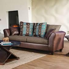 Furniture Of America Kaelyn Living Room Set In Brown