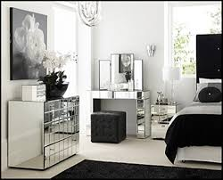 Unique Design Mirrored Glass Bedroom Furniture Surprising Ideas