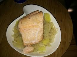 potée de choux blanc au saumon quand le régime reste gourmand