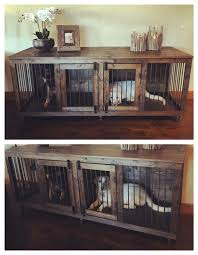 How To Build A End Table Dog Crate the 25 best kennel ideas ideas on pinterest dog crate dog