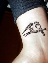 Two Birds On The Branch 100 Ideas For Wrist Tattoo