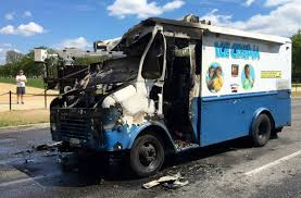 100 Ice Cream Truck Number Cream Truck Catches Fire On National Mall The Washington Post