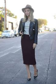 Work Office Outfit Pencil Skirt Cupcakes Cashmere