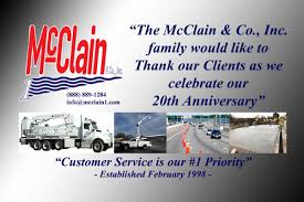 McClain & Co., Inc - Celebrating Our 20th Anniversary > Bridge ... Mcclain Trailers Facilities Boat Utility First Gear 103005 Galion Inc Mack Granite Heavyduty Dump Annual Report 2018 Mclane Dothan Is Expanding Its Grocery Distribution Center 2001 Rd600 Tandemaxle 500gvw Diesel Rolloff Truck W 8 Lance Engineer Bnsf Railway Linkedin Dump Trucks For Sale Greg Gregmcclain Twitter Missouri Legal Directory Pages 1001 1050 Text Version Fundraiser By Voiceactivated Freight App System Co Celebrating Our 20th Anniversary Bridge