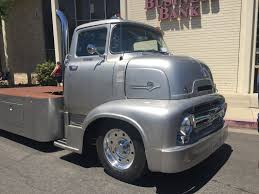 1956 Ford Cabover Car Hauler. Beautiful Hot Rod Truck — Steemit