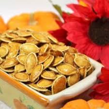 Roasted Shelled Pumpkin Seeds Recipe by Cinnamon Toast Pumpkin Seeds Recipe Allrecipes Com