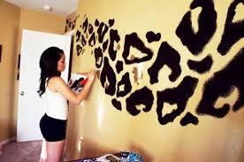 cheetah leopard animal print bathroom wall word art decor bath