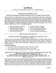 Sale Resume Format