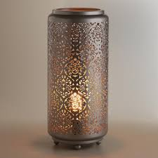 Punched Tin Lamp Shade Country by Tin Lighting