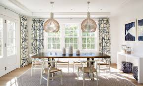 Nantucket Style Kitchen And Dining Room Decor