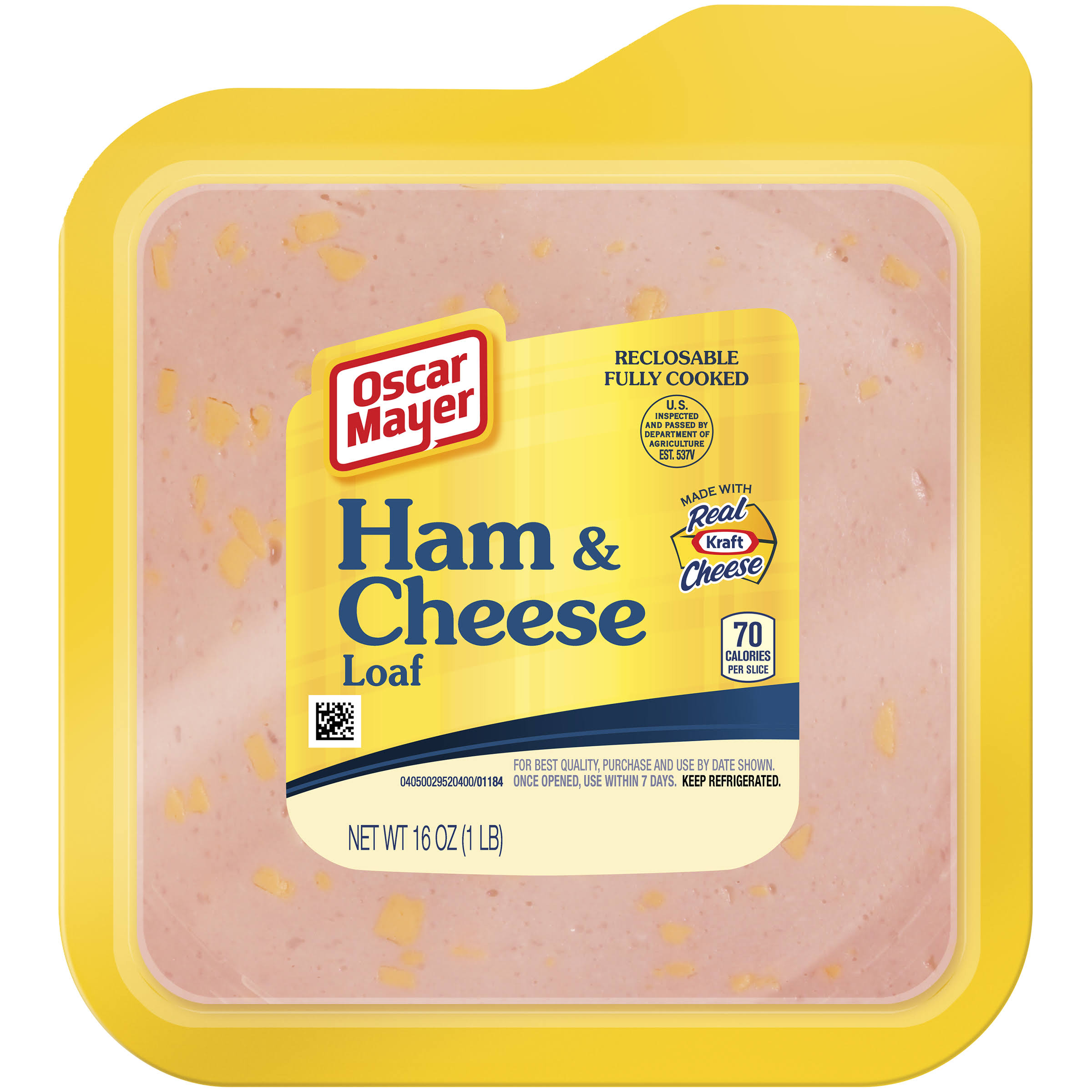 Oscar Mayer Ham & Cheese Loaf - 16oz