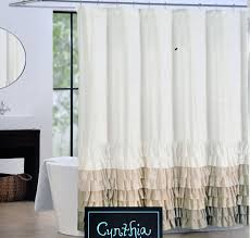 Tommy Hilfiger Curtains Special Chevron by Amazon Com Cynthia Rowley Fabric Shower Curtain Tan Beige And