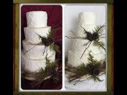 Making A Rustic Wedding Cake