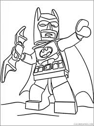 Batman Lego Printable Coloring Pages Coloring4free