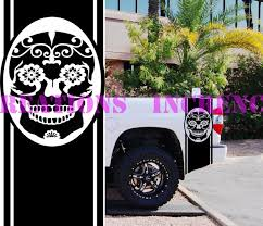 2019 For Universal /Sugar Skull Dodge Chevy Pickup Bed Stripes Truck ... The 2nd Half Price Firefighter Skull Car Sticker 1915cm Car Styling 2 Metal Mulisha Girl Skulls Bow Vinyl Decals 22 X Window Truck Army Star Military Bed Stripe Pair Skumonkey 2019 X13cm Punisher Auto Sticker Pentagram Cg3279 Harleydavidson Classic Graphix Willie G Decal Pistons Hood Matte Black Ram F150 Pin By Aliwishus On Skulls Flags Pinterest Stickers And Decalset Hd Skull American Flag Backround Cg25055 Die Cutz High Quality White Deer Rack Wall Etsy Unique For Trucks Northstarpilatescom Buy Shade Tribal Graphics Van