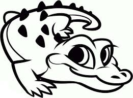 Alligator Coloring Pages 12printablecoloring