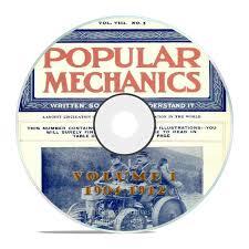 vintage popular mechanics magazine volume 1 dvd 1904 1912 76