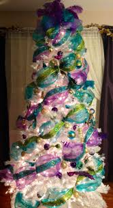 Whoville Christmas Tree Decorations by Christmas Tree Purple And Silver Christmas Pinterest