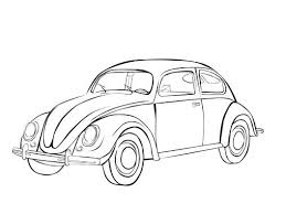 Vw Beetle Coloring Pages 10 Antique CarsVintage