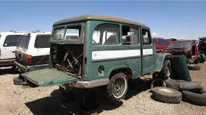 Junkyard Treasure: 1956 Willys Jeep Station Wagon   Autoweek Willys Jeep Truck 194765 Youtube Station Wagon Wikipedia Pickup Rat Rod 2018 Wrangler News Specs Performance Release Date 1955 For Sale Classiccarscom Cc1047349 Affordable Trucks For Today Carsforsalescom 1962 Truck Item C9734 Sold Wednesday Overland Front Left View Products I Love Dump Ewillys Restored M151 A1 East Coast Pattaya Region Pickup The Highs And Lows Morris 4x4 Center Blog Junkyard Tasure 1956 Autoweek