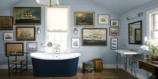 12 Best Blue Bathroom Ideas - How To Decorate Blue Bathrooms Bathroom Bathroom Collection Sets Sailor Ideas Blue Beach Nautical Themed Bathrooms Hgtv Pictures 35 Awesome Coastal Style Designs Homespecially Design For Macyclingcom 12 Best How To Decorate Mary Bryan Peyer Inc Blog Archive Hall Simple Cape Cod Ceiling Tile Closet 39 Stylish Deocom 25 And For 2019 Home Beautiful Of House Kids Nautical Remodel Final Results Cottage