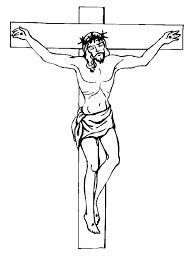 Crucifixion Of Christ Coloring Pages