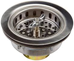 Commercial Sink Strainer Gasket by Keeney 1433ss 3 1 2 In Dia Twist And Lock Sink Strainer With