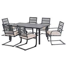 Bjs Patio Furniture Cushions by Sunjoy 7 Pc Outdoor Dining Set Bj U0027s Wholesale Club