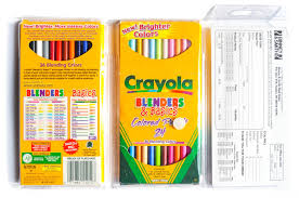 Crayola Bathtub Crayons Collection by Crayola Blenders And Basics Colored Pencils What U0027s Inside The Box