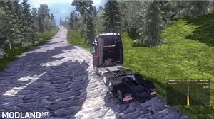 MMG MAP ETS2 EXTREME ROAD MAP Mod For ETS 2