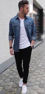 Simply Perfect Street Styling Mens FlannelOutfit GridStyle