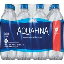 AquafinaR Water 12 169 Fl Oz Bottles
