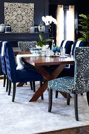 Wonderful Navy Dining Room Blue Furniture Best Rooms Ideas On Images Chair Cover
