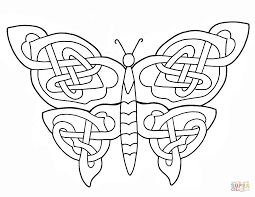 Celtic Animals Designs Coloring Page